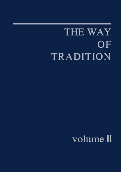 The Way of Tradition 2